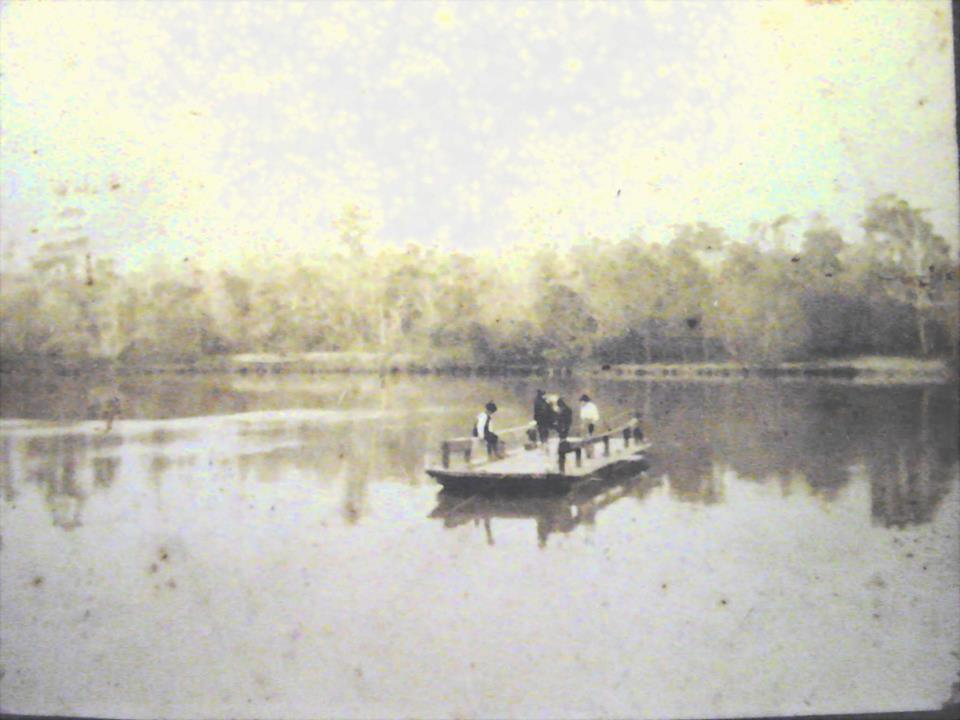 Macomb Ferry across the San Jacinto River